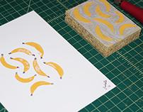 The Banana Print