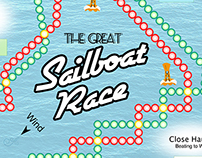 The Great Sailboat Race - Board Game
