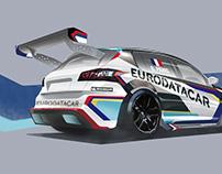 Concept Exploration - Peugout 308 TCR Racer