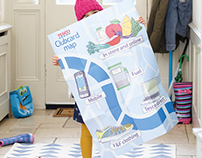 Tesco Clubcard Map illustration