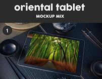 Oriental Tablet Mock Up