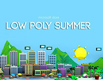Microsoft Store: Low Poly Summer
