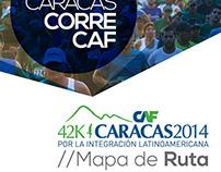 Maratón CAF 2014 // Mapa de Ruta