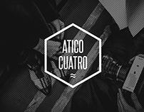 Aticocuatro - Branding