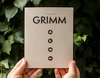 Grimms' Fairy Tales illustrated photobook