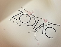 ZODIAC. Pan-Asian Bistro. Branding
