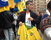 Cristiano Ronaldo in the real Brazil