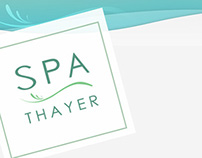 Spa Thayer Web Site Design