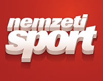 Icon design for NemzetiSport iOS application