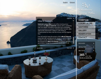 Hotel Website - Santorini luxury villas