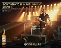 Warsteiner Advertising Campaign