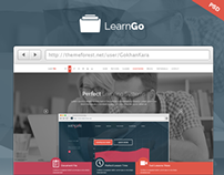 LearnGo - Education Learning Html Landing Page