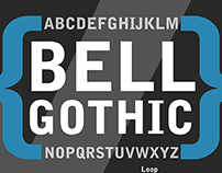 Bell Gothic Poster