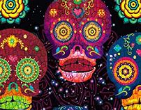 Camino al  Mictlán propuesta  Día de Muertos 2013