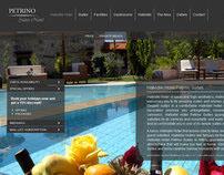 Hotel Website - Petrino Halkidiki