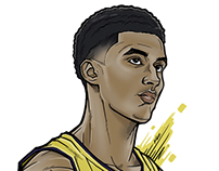 Kyle Kuzma (Illustration)