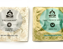 Teavana Tea Sachets for Starbucks