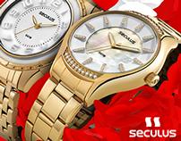Seculus Relógios - Redes Sociais