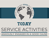 Service Activities Social Poster