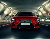 Lexus - LC - Landing Page
