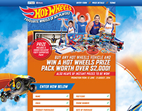 Hot Wheels Promotion Microsite
