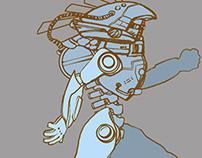 Robot Concept Illustration