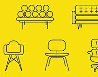 Midcentury Furniture Icons