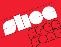 Slice - Font by Superfried