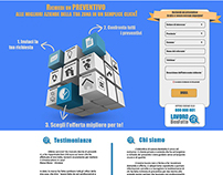 "Landing Page for ""Lavoro BenFatto"""