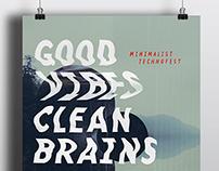 Minimalist Technofest poster & trailer