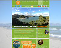 "Layout Home Page ""Lido Salpi"""