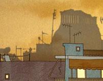 """""""Athens"""" wall lamp"""