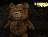 Blender 2.71 Effect Ted Hair & Fur