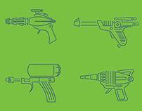 Raygun Icons