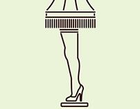 Leg Lamp Icon