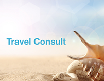Travel consult // landing page