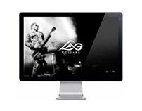 Lâg Guitars Web Design