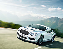 New Bentley GT3-R Launch Film