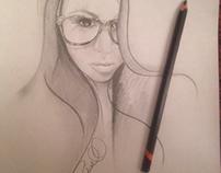 Portrait Jenn by Gary Rudisill