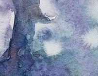 Cinq aquarelles de Stéphan Swolfs