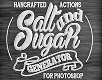 Salt & Sugar Generator - Photoshop Actions