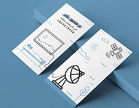 business card بطاقة العمل