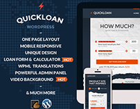 QuickLoan - Responsive Wordpress One Page Theme