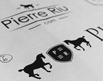 PierreRiu logo concepts