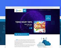 Fresh website layout