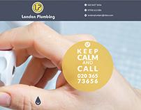 Plumbing Company - Web Design
