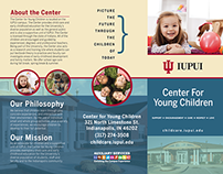 Center for Young Children Brochure