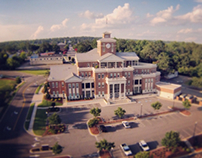 Courthouse Aerial Photo