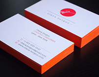 Diana Bergue - Business cards