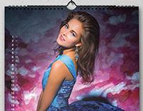 "Russian Silhouette Calendar 2013 ""Flying High"""